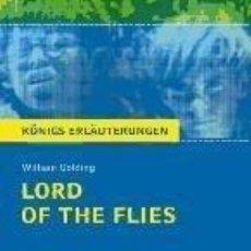 Libros: LORD OF THE FLIES (HERR DER FLIEGEN) VON WILLIAM GOLDING.. Lote 227013067