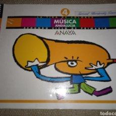 Libros: LIBRO DE TEXTO MÚSICA ANAYA ANDALUCÍA .4. Lote 227097685