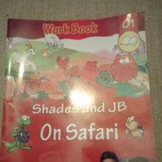 Libros: WORK BOOK . VTECH. SHADES ANDA JB ON SAFARI.. Lote 227619790