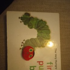 Libros: THE VERY HUNGRY CATEEPILLAR'S. GINGER PUPPET BOOK. BY ERIC CARLE. Lote 227622280