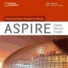 Libros: ASPIRE INTERMEDIATE. WORKBOOK WIHT AUDIO CD. Lote 228256202