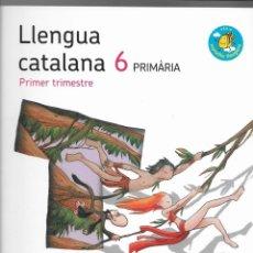Libros: 3 LLIBRES LLENGUA CATALANA 6 - 1ER T, 2N T, 3ER T + GUIA RECURSOS PROFESSORAT. EDIT SANTILLANA. Lote 228263000
