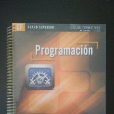 Libros: PROGRAMACIÓN. Lote 228954373
