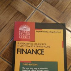 Libros: LIBRO FINANZAS HARVARD BUSINESS REVIEW EN INGLÉS. Lote 229857615