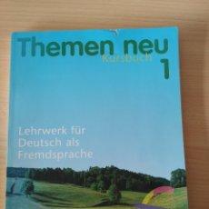 Libros: THEMEN NEU 1 KURSBUCH. NUEVO LIBRO DE TEXTO.. Lote 232254180
