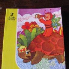 Libros: LIBRO TEXTO ESCOLAR ESCUELA 3º EGB MUNDO NUEVO ANAYA. AÑO 1981 COMPLETAMENTE NUEVO SIN USO. Lote 233619590