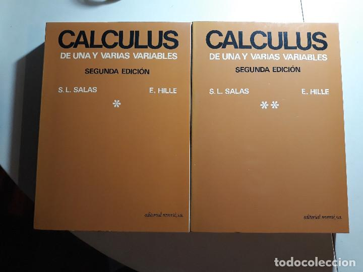 CALCULUS (2ª ED.) - S.L. SALAS Y E. HILLE - EDITORIAL REVERTÉ (Libros Nuevos - Libros de Texto - Ciclos Formativos - Grado Superior)