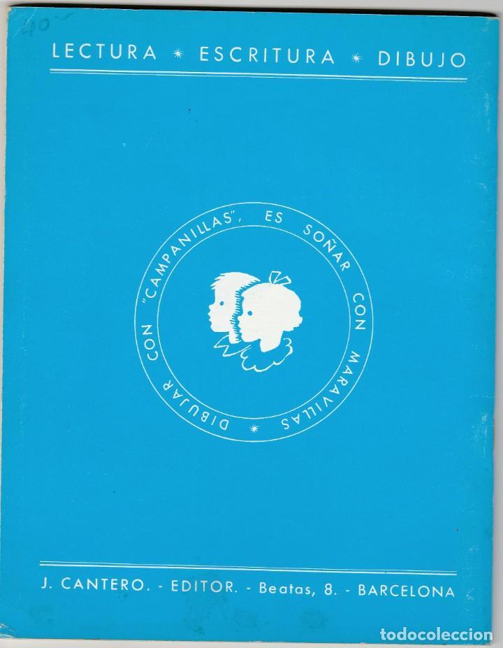 Libros: CAMPANILLAS 2 - ANTIGUO LIBRO CARTILLA DE LECTURA - 1958 - JOSE Mª TORAL - ED. J CANTERO - Foto 2 - 234968630