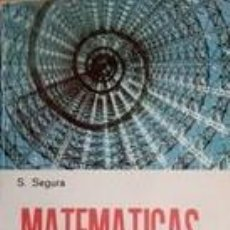 Libros: MATEMÁTICAS 3.º BUP. S. SEGURA. ECIR. Lote 235442685