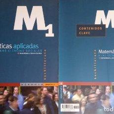 Libros: MATEMÁTICAS APLICADAS A LAS CIENCIAS SOCIALES M2. SEGUNDO DE BACHILLERATO LOGSE. EDELVIVES 2.003. Lote 235444600