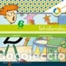 Libros: LETRILANDIA. LECTOESCRITURA CUADERNO 6 DE ESCRITURA (CUADRICULA). Lote 235629350