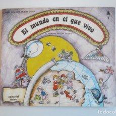 Libros: EL MUNDO EN EL QUE VIVO EDITORIAL ROMA PILARIN BAYES 1984 TAPA BLANDA BUEN ESTADO. Lote 235736465
