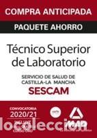 PAQUETE AHORRO Y TEST ONLINE GRATIS TÉCNICO SUPERIOR SANITARIO DE LABORATORIO DEL SERVICIO DE SALUD (Libros Nuevos - Libros de Texto - Infantil y Primaria)