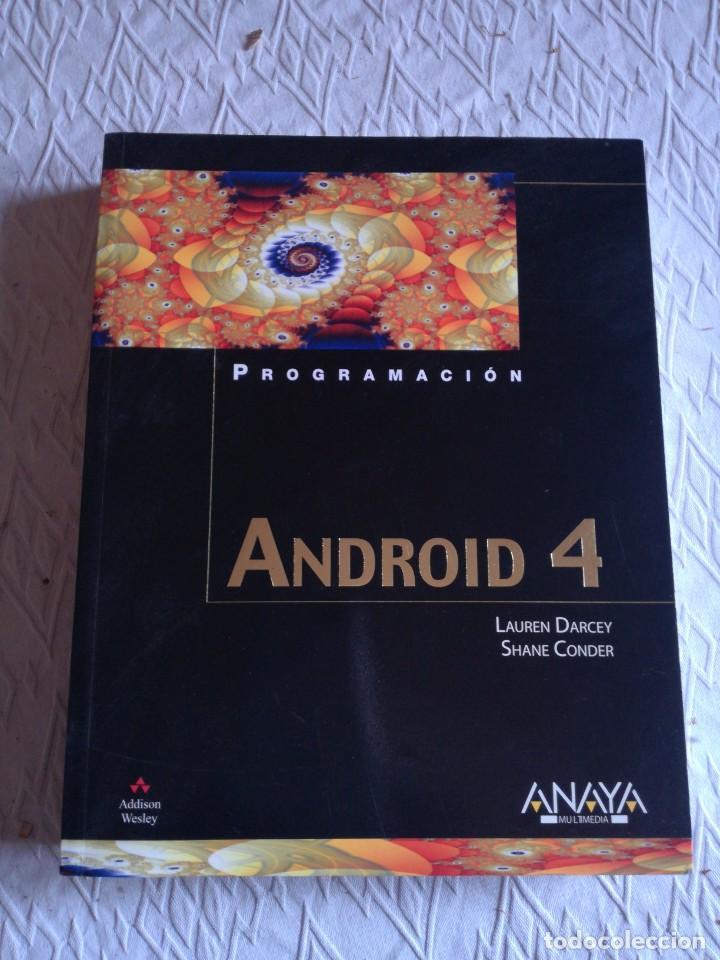 PROGRAMACIÓN ANDROID 4. ANAYA MULTIMEDIA. 2012 (Libros Nuevos - Libros de Texto - Ciclos Formativos - Grado Superior)