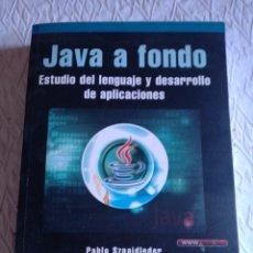Libros: JAVA A FONDO. ESTUDIO DEL LENGUAJE Y DESARROLLO DE APLICACIONES. ALFAOMEGA 2011. Lote 236623570