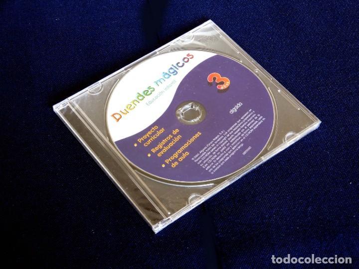 Libros: EDUCACIÓN INFANTIL - DUENDES MÁGICOS - 3 AÑOS - CD-ROM - ALGAIDA, 2004 - ANAYA - NUEVO - Foto 2 - 236743520
