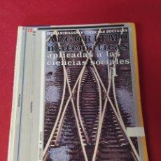 Libros: LIBRO MATEMÁTICAS ALGORITMO BACHILLERATO. Lote 237261725