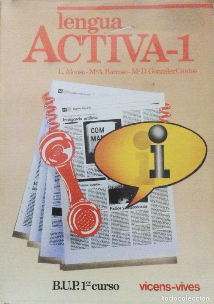 LENGUA. ACTIVA 1 BUP VICENS VIVES. NUEVO (Libros Nuevos - Libros de Texto - Bachillerato)