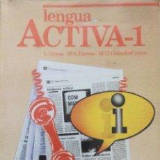 Libros: LENGUA. ACTIVA 1 BUP VICENS VIVES. NUEVO. Lote 237454940