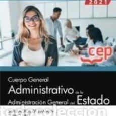 Libros: CUERPO GENERAL ADMINISTRATIVO DE LA ADMINISTRACIÓN GENERAL DEL ESTADO (TURNO LIBRE). SIMULACROS DE. Lote 237466905