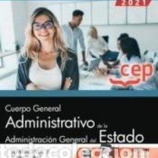 Libros: CUERPO GENERAL ADMINISTRATIVO DE LA ADMINISTRACIÓN GENERAL DEL ESTADO (TURNO LIBRE). TEMARIO VOL. II. Lote 237466915