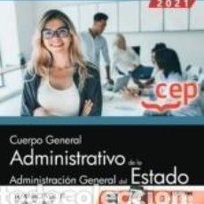 Libros: CUERPO GENERAL ADMINISTRATIVO DE LA ADMINISTRACIÓN GENERAL DEL ESTADO (TURNO LIBRE). TEMARIO VOL.. Lote 237467095