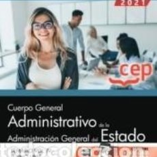 Libros: CUERPO GENERAL ADMINISTRATIVO DE LA ADMINISTRACIÓN GENERAL DEL ESTADO (TURNO LIBRE). TEMARIO VOL. IV. Lote 237467165
