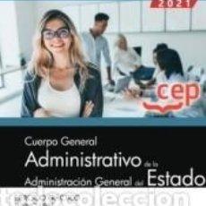 Libros: CUERPO GENERAL ADMINISTRATIVO DE LA ADMINISTRACIÓN GENERAL DEL ESTADO (TURNO LIBRE). EJERCICIO. Lote 237467195