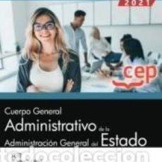 Libros: CUERPO GENERAL ADMINISTRATIVO DE LA ADMINISTRACIÓN GENERAL DEL ESTADO (TURNO LIBRE). TEST. Lote 237467235