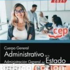 Libros: CUERPO GENERAL ADMINISTRATIVO DE LA ADMINISTRACIÓN GENERAL DEL ESTADO (TURNO LIBRE). TEMARIO VOL. V. Lote 237467245