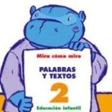 Libros: PALABRAS Y TEXTOS 2. Lote 240793725