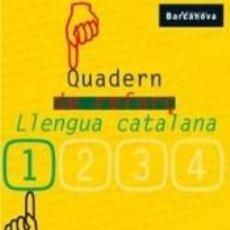 Libros: QUADERN DE REFORÇ DE LLENGUA CATALANA 1. 1º EDUCACIÓN SECUNDARIA OBLIGATORIA. CUADERNO DEL ALUMNO.. Lote 240810740