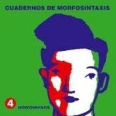 Libros: 4. MORFOSINTAXIS.. Lote 240811055