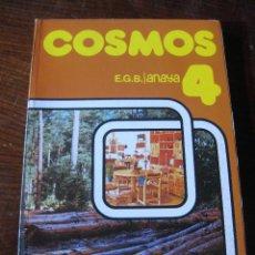 Livres: LIBRO TEXTO ESCOLAR ESCUELA 4º EGB COSMOS NATURALEZA SOCIALES ANAYA. AÑO 1981 NUEVO SIN USO. Lote 240864270