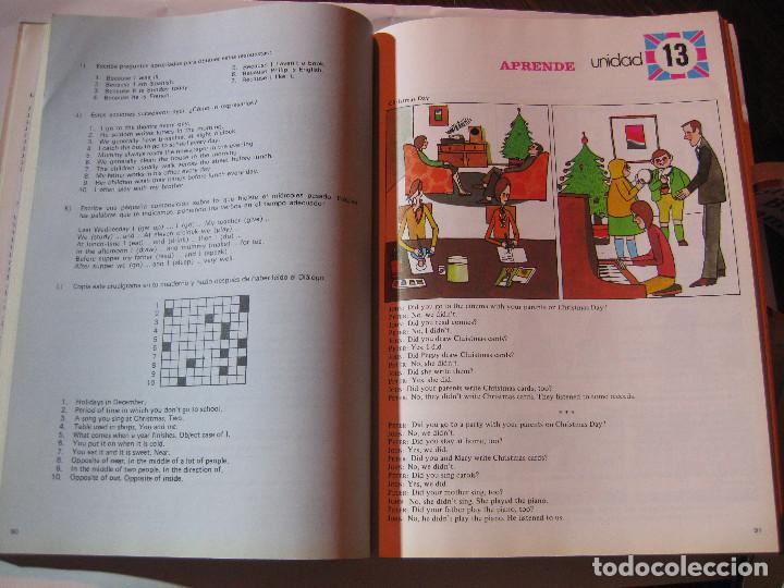 Libros: LIBRO TEXTO ESCOLAR ESCUELA 7º EGB INGLES ANAYA. ECHEVARRIA MERINO1984 NUEVO SIN USO - Foto 6 - 240951800