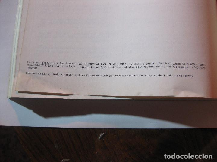 Libros: LIBRO TEXTO ESCOLAR ESCUELA 7º EGB INGLES ANAYA. ECHEVARRIA MERINO1984 NUEVO SIN USO - Foto 7 - 240951800