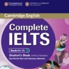 Libros: COMPLETE IELTS BANDS 6.5-7.5 STUDENTS BOOK WITHOUT ANSWERS WITH CD-ROM. Lote 241704390