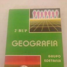 Libros: LIBRO GEOGRAFÍA 2 BUP. Lote 243524515