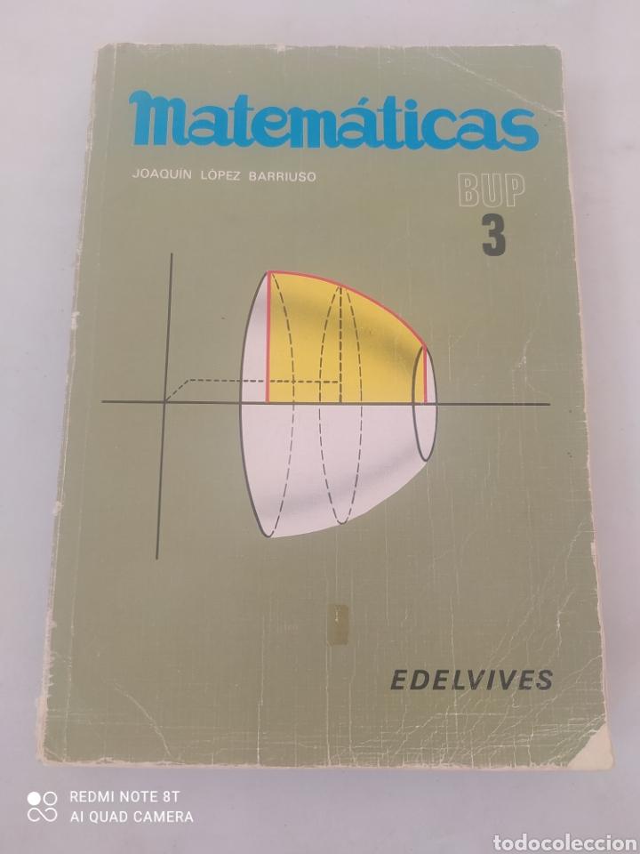 LIBRO MATEMÁTICAS 3 BUP (Libros Nuevos - Libros de Texto - Bachillerato)