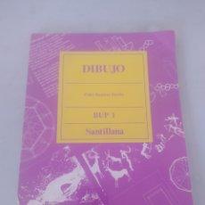 Libros: LIBRO DIBUJO 1 BUP SANTILLANA. Lote 243526505