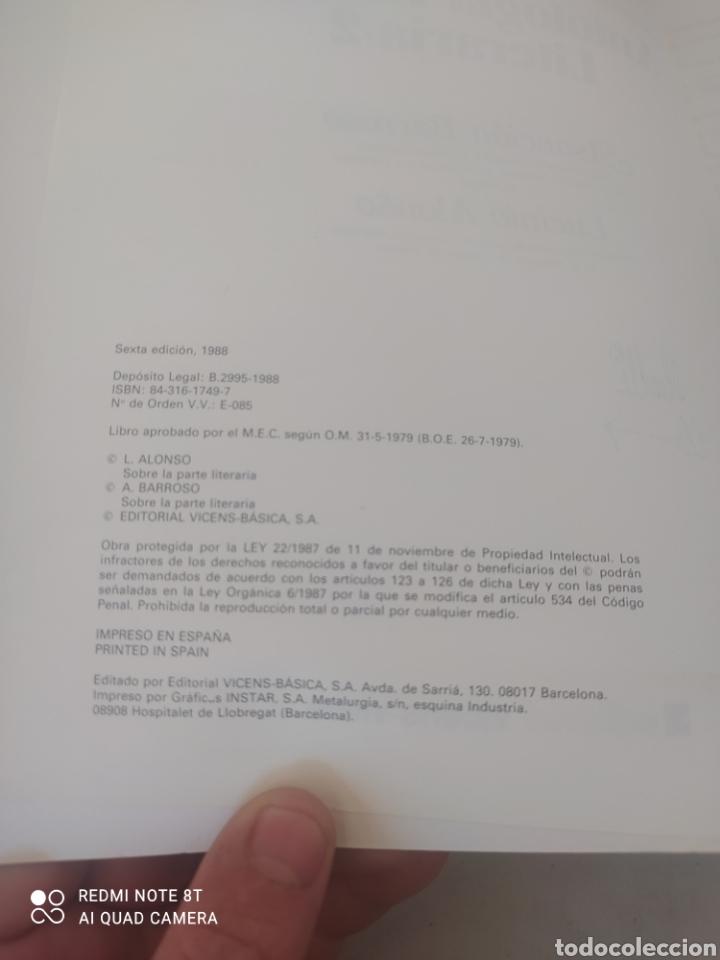 Libros: LIBRO LETRAS ANTOLOGÍA BÁSICA LITERARIA 2 - Foto 2 - 243527160