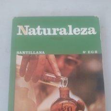 Libros: LIBRO NATURALEZA 8 E.G.B. SANTILLANA. Lote 243527635