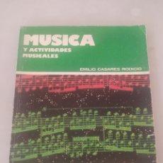 Libros: LIBRO MÚSICA 1 BUP. Lote 243527885