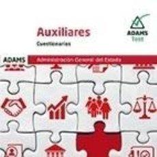 Libros: CUESTIONARIOS AUXILIARES DE LA ADMINISTRACIÓN DEL ESTADO. Lote 243557455