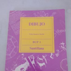 Libros: LIBRO DIBUJO 1 BUP SANTILLANA. Lote 243564075