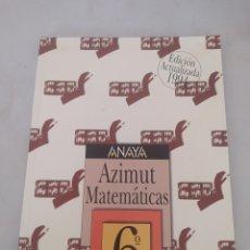 Libros: LIBRO MATEMÁTICAS 6 E.G.B. ANAYA. Lote 243565100