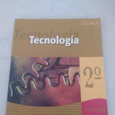 Libros: LIBRO TECNOLOGÍA 2 SECUNDARIA. Lote 243567360