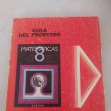 Libros: LIBRO MATEMÁTICAS 8 E.G.B ANAYA. Lote 243571180