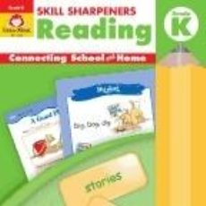 Libros: SKILL SHARPENERS READING, GRADE K. Lote 243965755