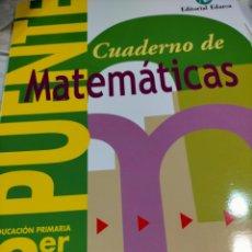 Libros: CUADERNOS EJERCICIOS. NUEVO. Lote 244490440